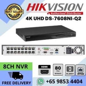 CCTVNVRSingaporeHikvisionDS NI QPKNetworkVideoRecorderGN