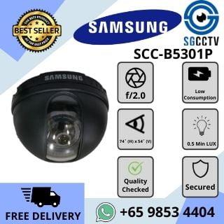 CCTVSingaporeSamsungCameraSCC BPDomeAnalog