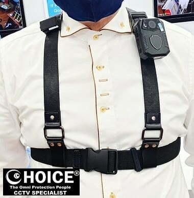 Body Worn Camera Chest Harness Shoulder Harness Security Officer Enforcement Team 3