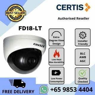 CCTV Singapore Certis Cisco FD18 Indoor Dome Camera Analog