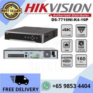 Hikvision DS NI K P  Channel Network Video Recorder