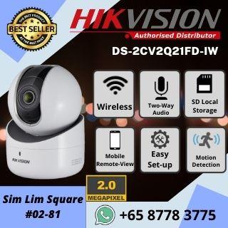 Hikvision Q1 Price Wireless IP Cam Pan Tilt Camera WIFI 1080P Full HD CCTV System