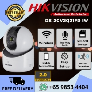 HIKVISIONWirelessIPNetworkCameraMPPFullHDPanTiltdegreeSmartTrackingHikConnect