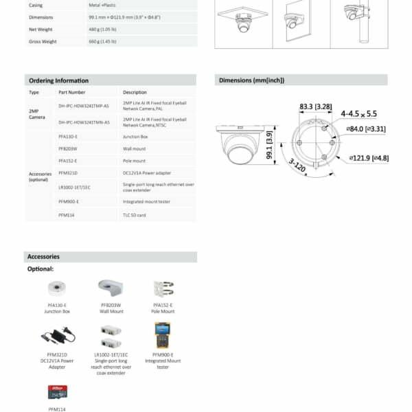 dahua ipc hdwtm as datasheet page  scaled
