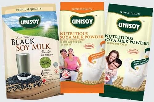 Best Gifts UNISOY Black Soy Milk 100% Organic Singapore Prestige Brand Award