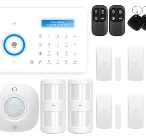 Wireless Alarm System Touch keypad Smart Home Burglar Alarm System Motion Sensor PSTN A11